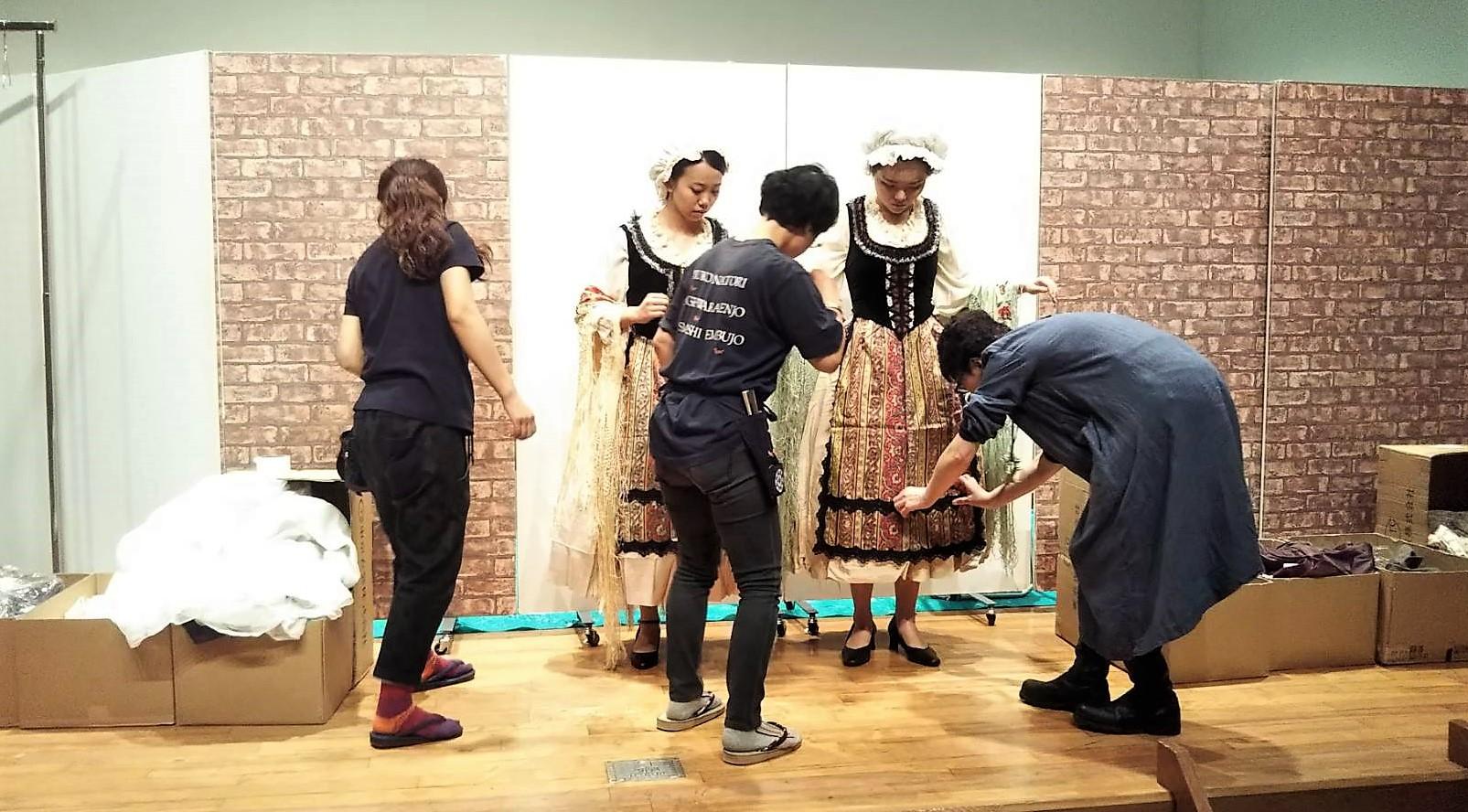 初めての衣装合わせ♪〜聖徳オペラ《フィガロの結婚》本番まであと1ヵ月!~
