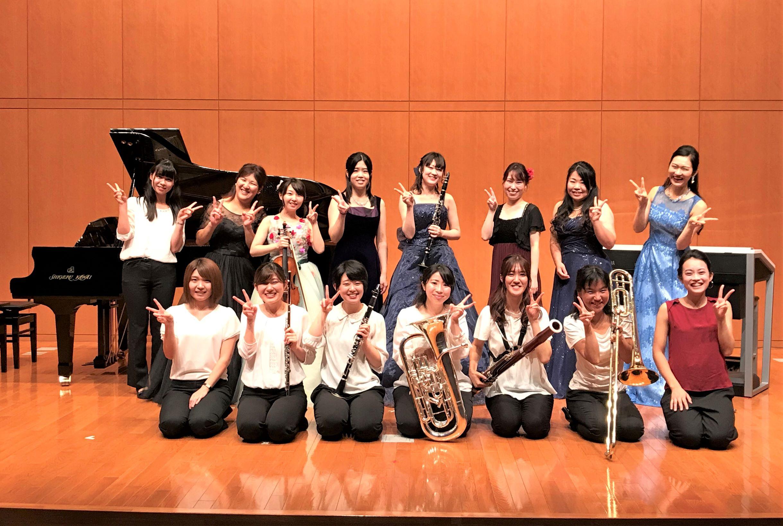演奏がつなぐ絆~平成27年度卒業生有志によるコンサートが行われました~