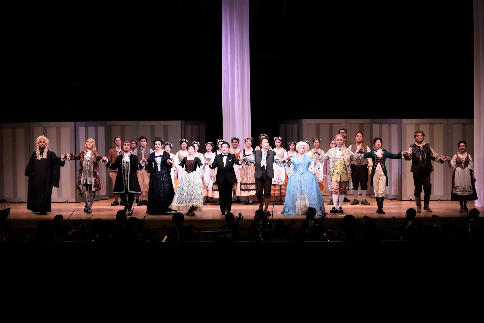 オペラで輝く!~《フィガロの結婚》の公演で達成感をかみしめた学生たち~