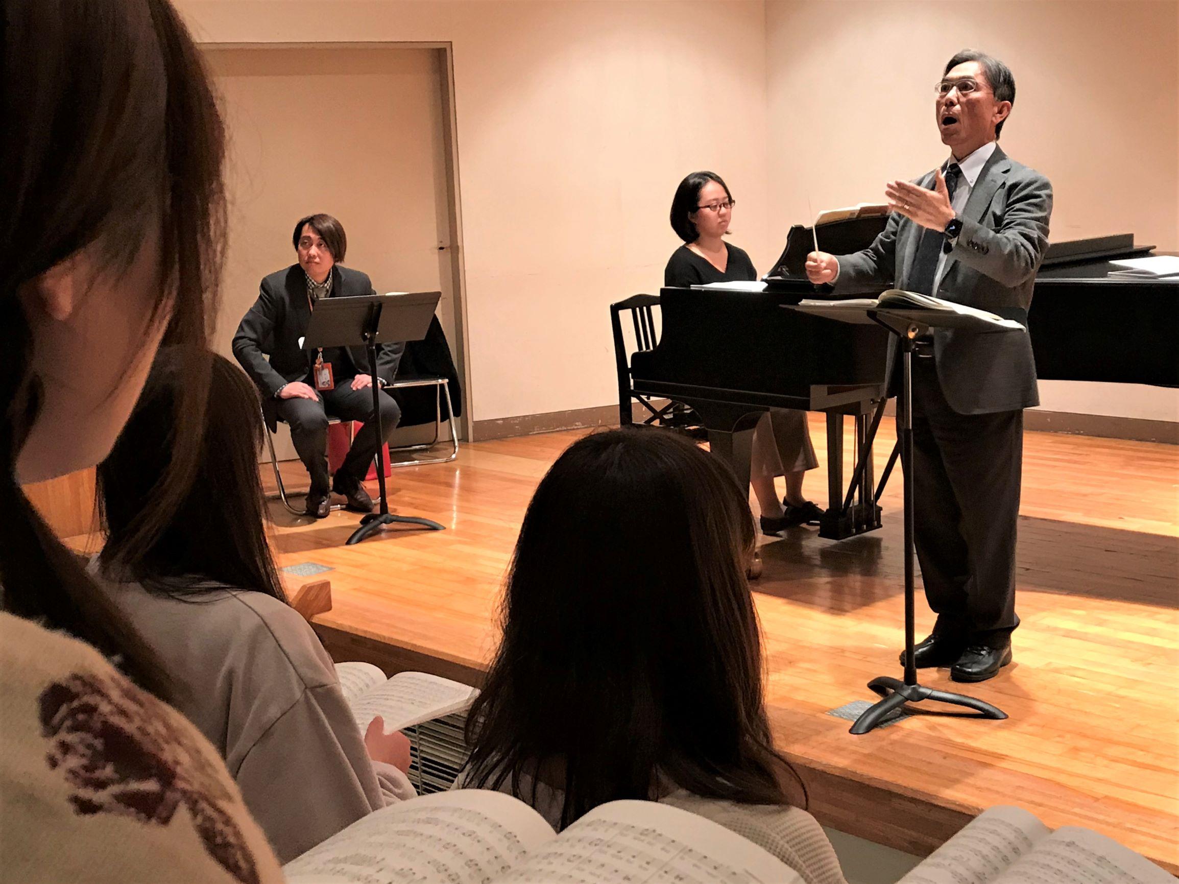 近づく「第九」公演~「マエストロ稽古」が行われました~