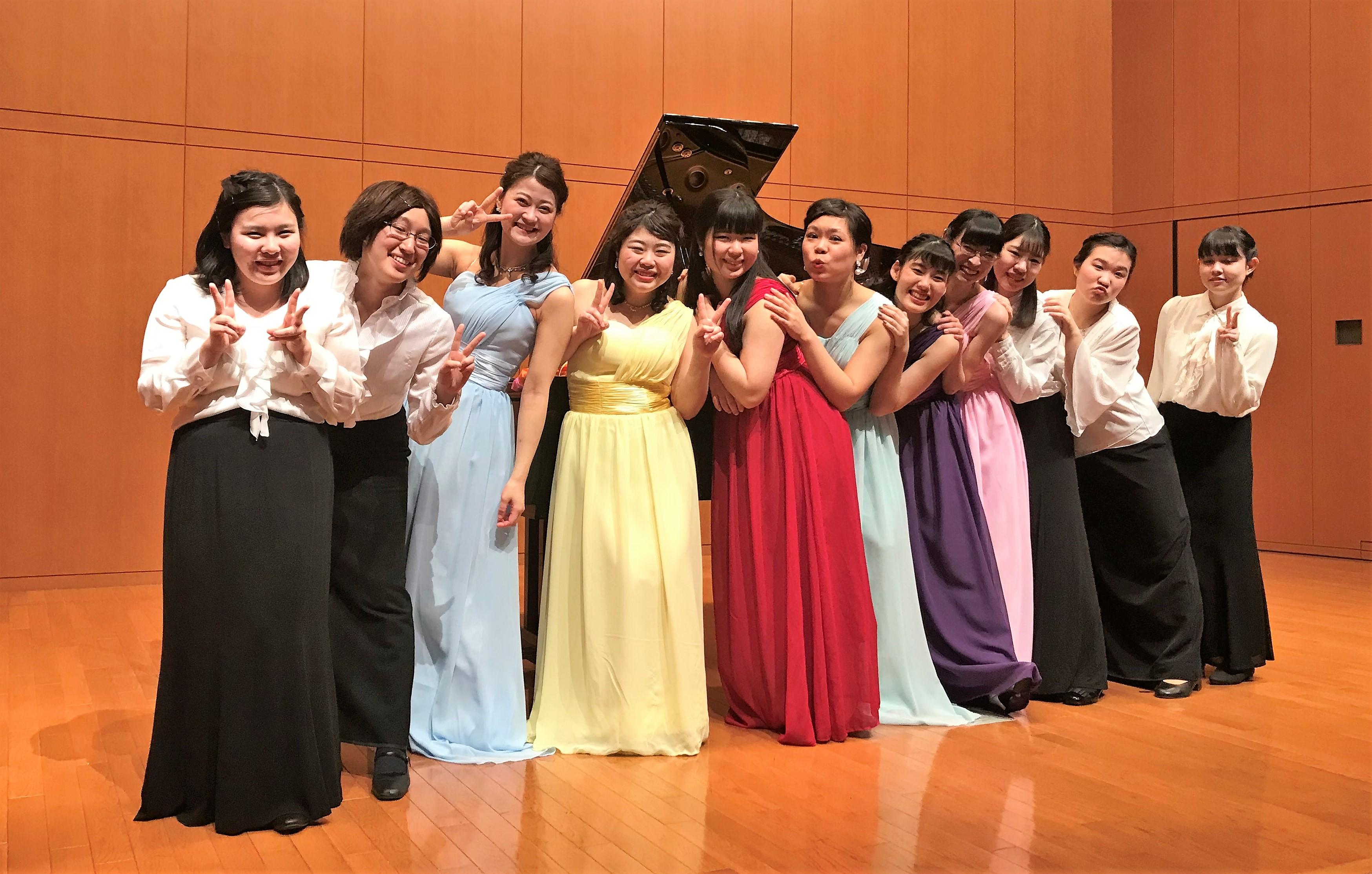 4年生が卒業コンサートを開催しました