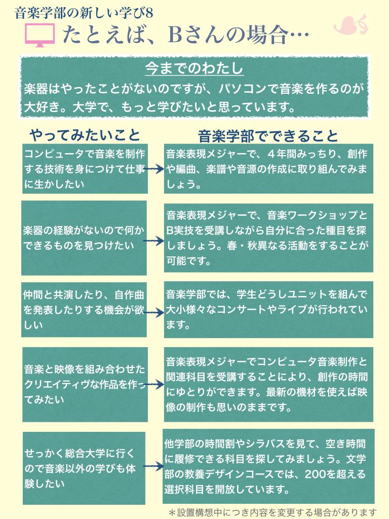 音楽学部の「新しい学びのスタイル」とは?(8)