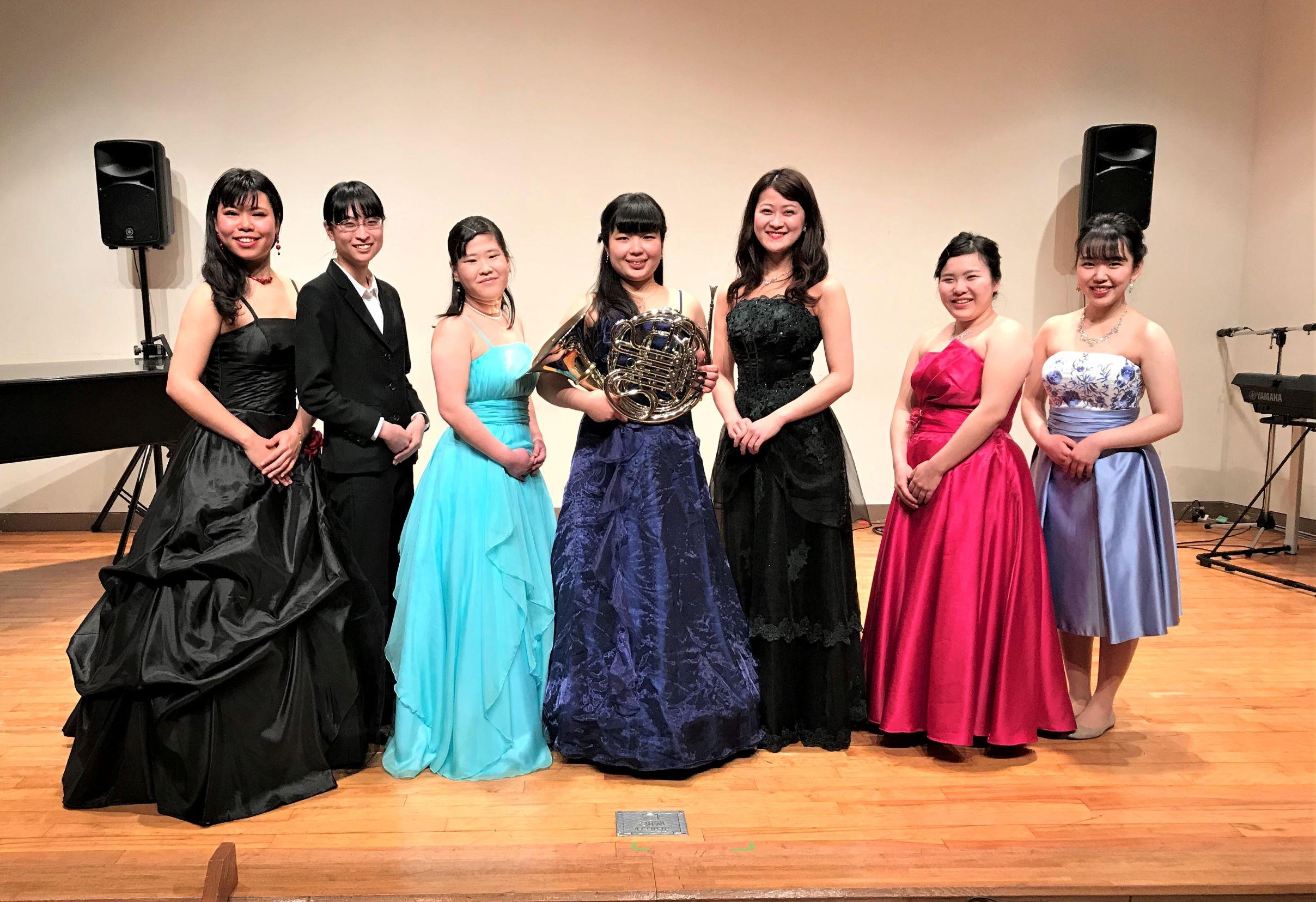 音楽学部の「卒業演奏会」が行われました