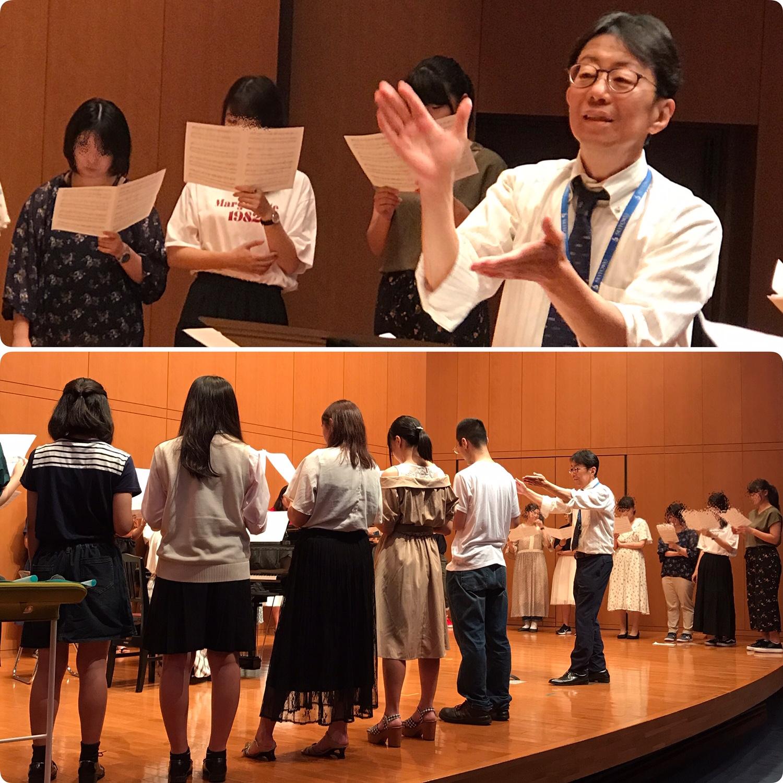 7/28(日) 音楽学部のオープンキャンパスは「合唱ワークショップデー」で盛り上がりました
