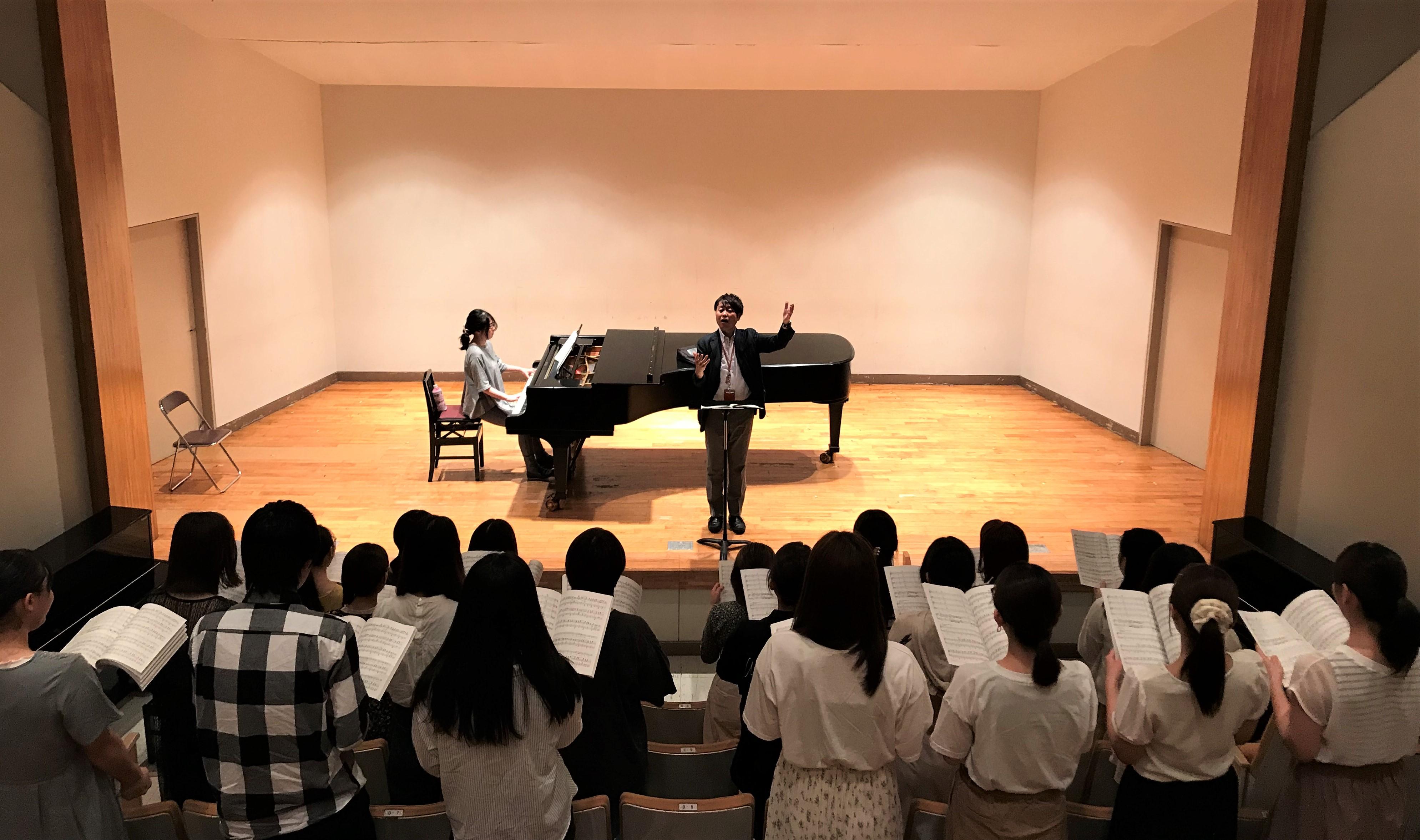 授業紹介:合唱(第九)