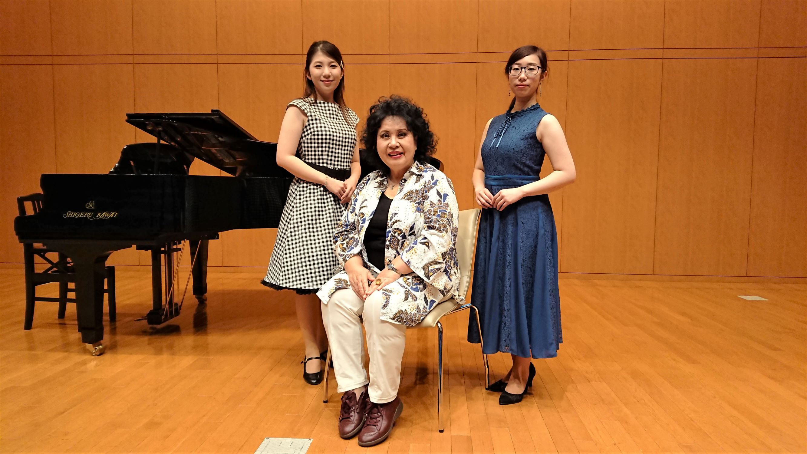イタリアの声を満喫! ~林康子客員教授の声楽公開講座が行われました~