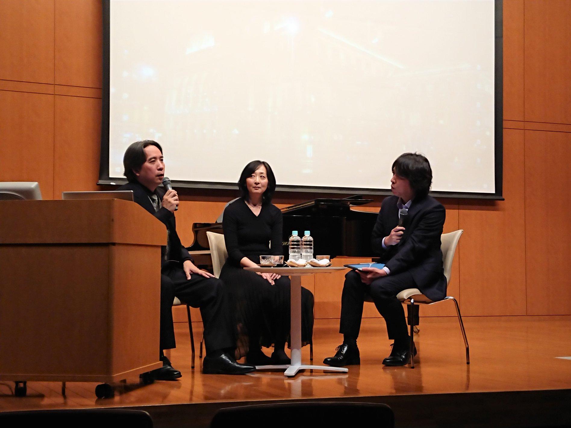 甲斐栄次郎客員教授の公開講座「ウィーンの劇場生活10年を振り返って」を開催しました