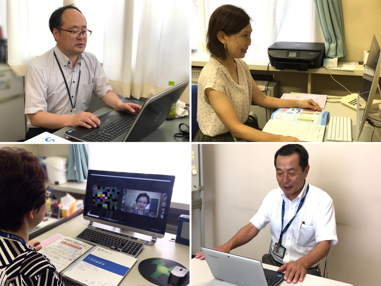 7/26(日) 来校型オープンキャンパスに代わり、オンライン相談会を実施しました