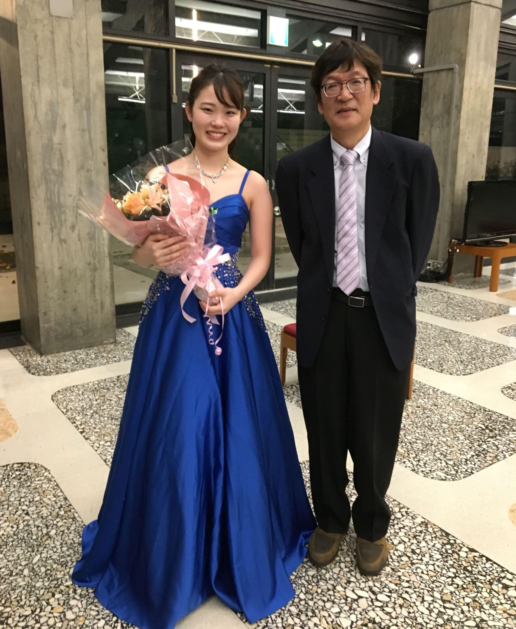 新しい門出、ピアノ「新人演奏会」おめでとうございます!