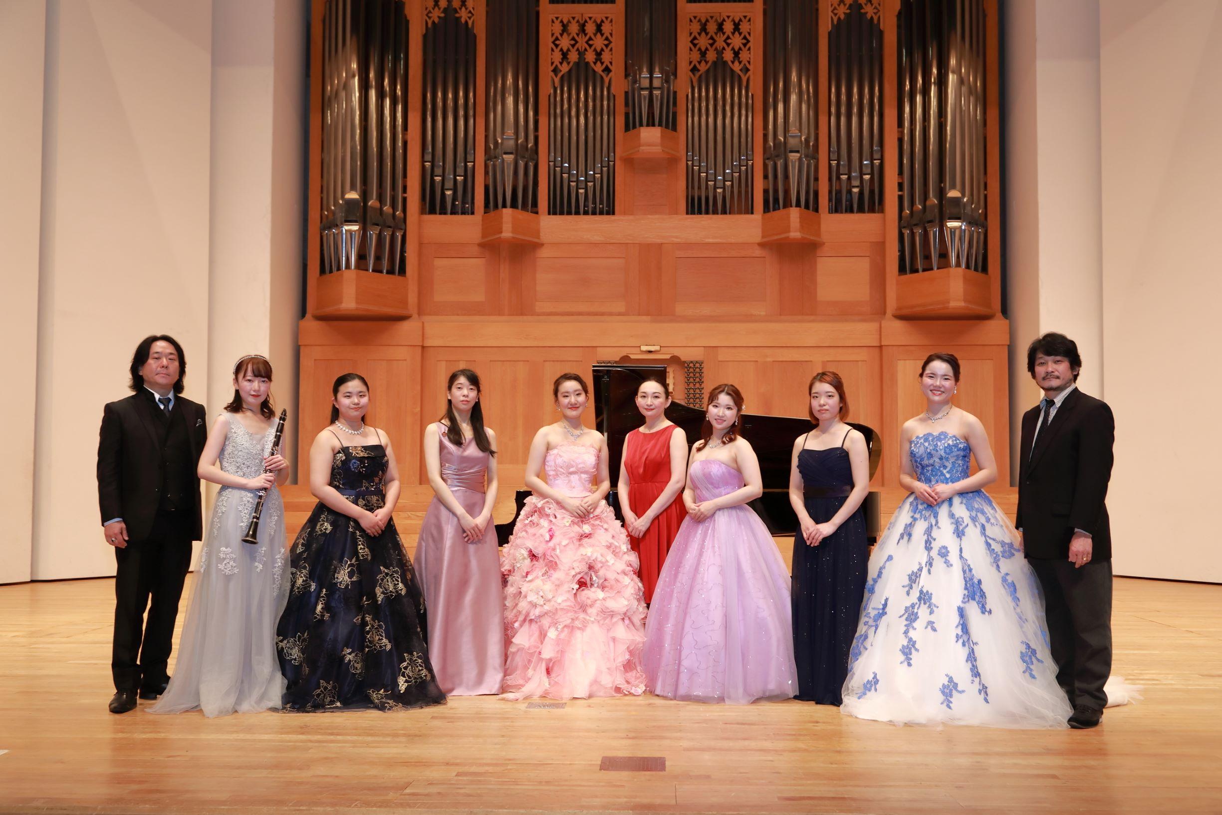音楽学部・大学院音楽文化研究科の「第22回定期演奏会」が無観客で開催されました