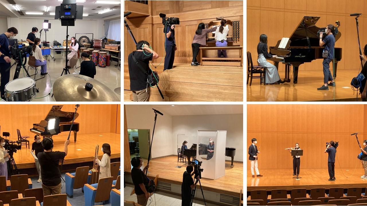 10月12日(火) チバテレ「モーニングこんぱす」に音楽学部がいよいよ登場します!