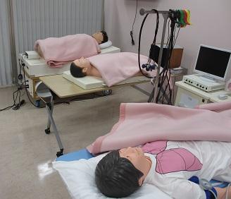 千葉県松戸地区と市川地区高等学校PTA連合会の方々が患者ロボットを体験!