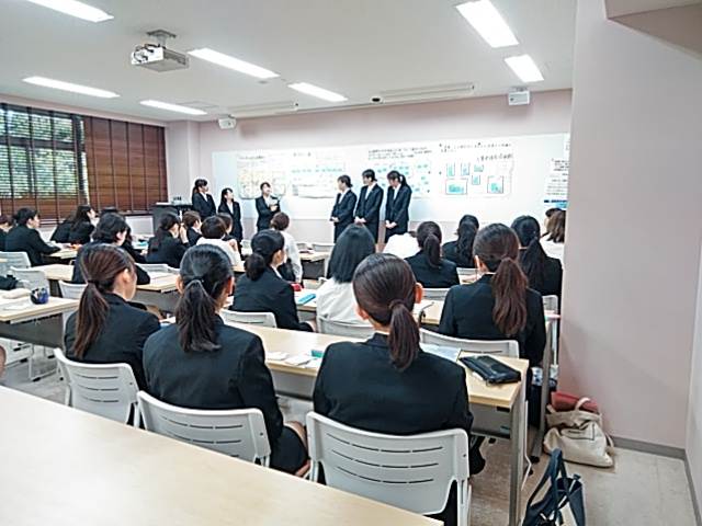1年生の臨地実習最終日 ~病院で輝く看護師をめざして~