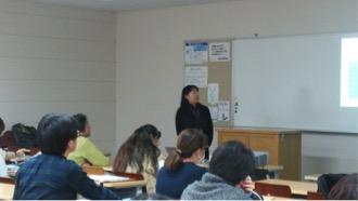 平成28年度第4回SEITOKU大学院合同説明会で菅沼先生・関口先生・河野先生が、臨床心理学研究科について紹介しました。