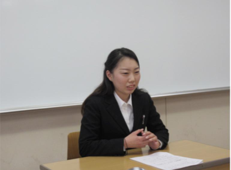 心理学科進路懇話会を開催しました③〜大学院進学〜