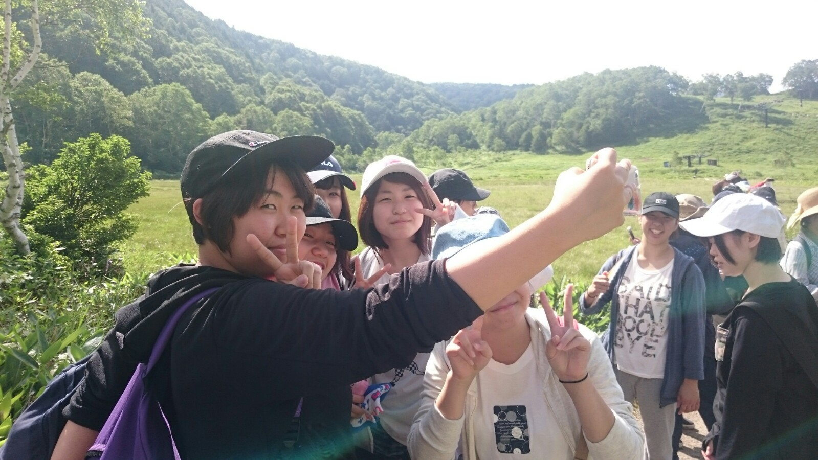心理学科1年生が夏の志賀高原に行きました