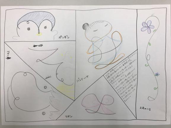 心理学科の授業を紹介します2~心理検査実習『描画法』