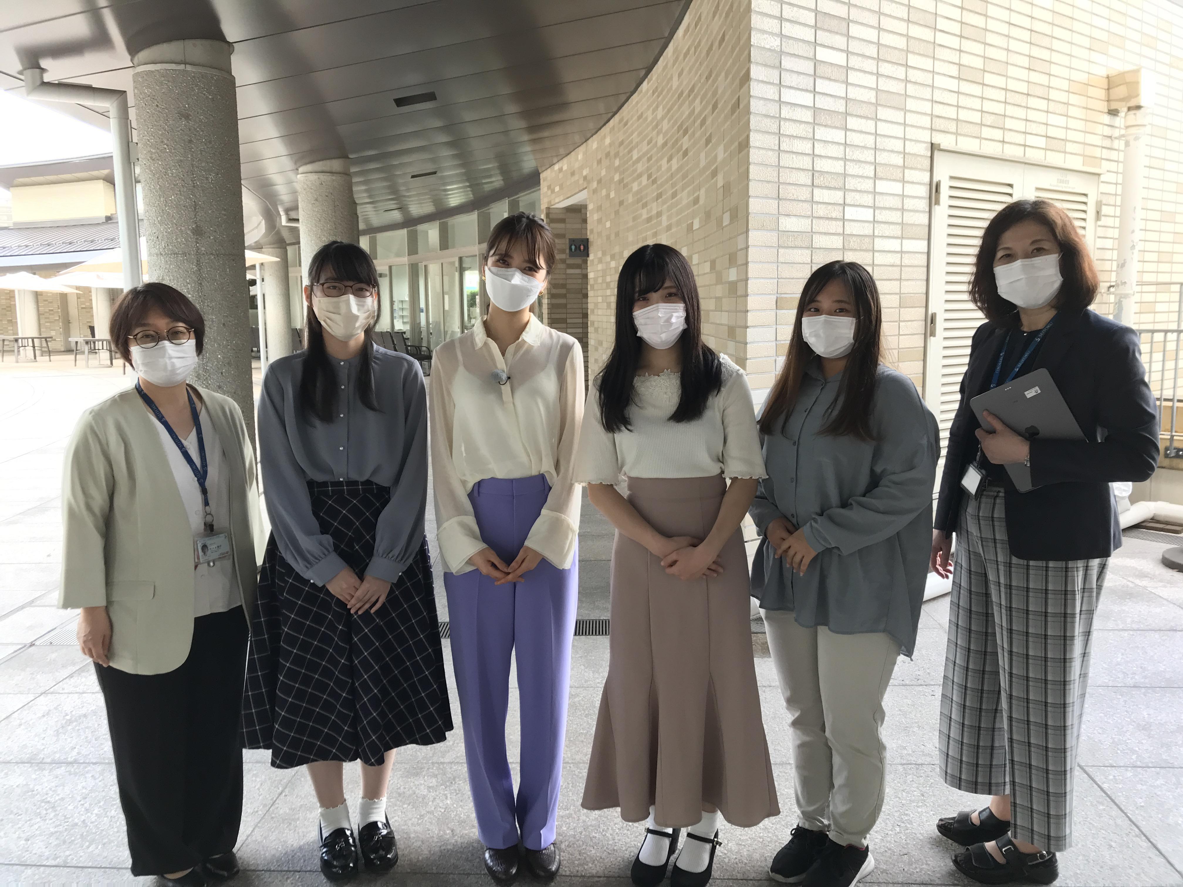 千葉テレビ「モーニングこんぱす」で心理学科の特長を紹介します!