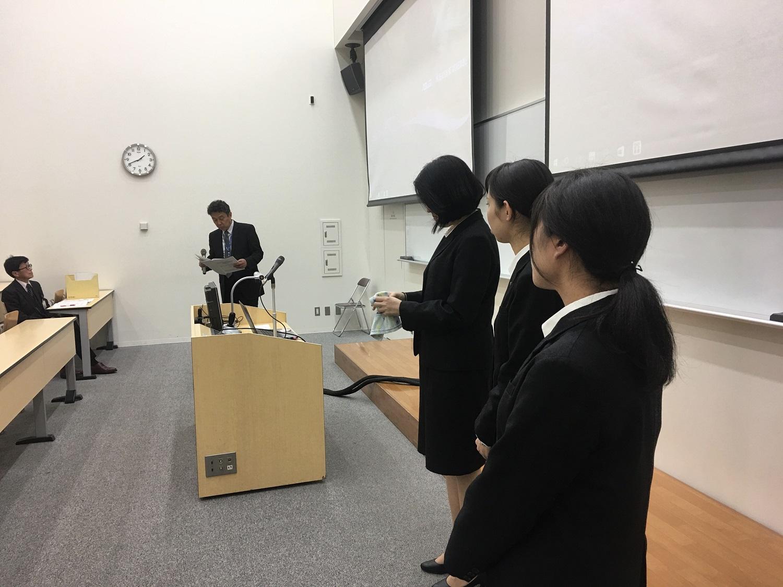 社会福祉援助技術現場実習 報告会を行いました