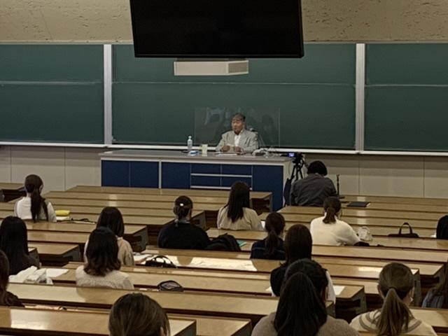 毒蝮三太夫先生の授業が開講されました!